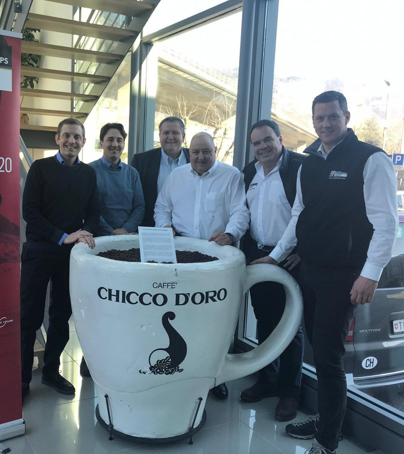 Caffè Chicco d'Oro is the first official sponsor of Aigle-Martigny 2020