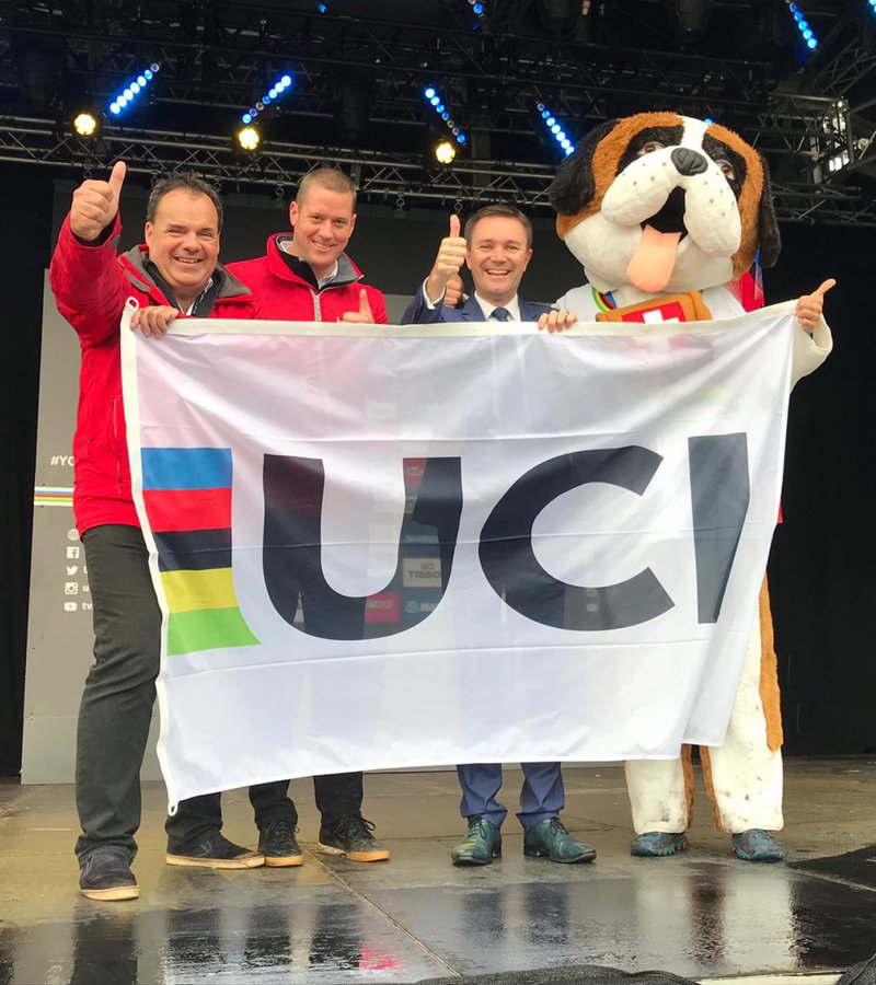 Yorkshire 2019 passes the baton to Aigle-Martigny 2020