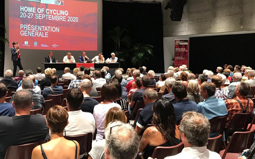 UCI Road World Championships introduced to the population of Martigny